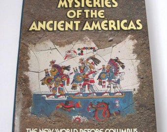 mysteries of the ancient americas, readers digest book, 1986, hardcover book, literature, rosesandbutterflies