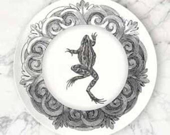 frog I melamine plate