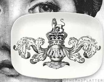 Armour Cavalieri serving melamine platter