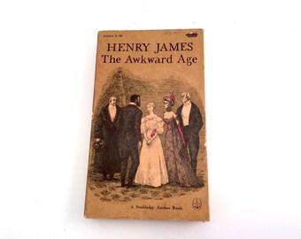 The Awkward Age, Henry James, 1958, Edward Gorey Cover