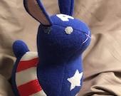 Captain America Bunny - Ready Made