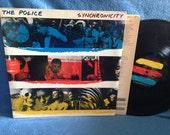 "Vintage, The Police - ""Synchronicity"", Vinyl LP, Record Album, Original 1983 Press, Sting, Every Breath You Take, Post Punk, 80s"