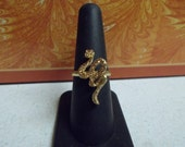Stunning Rhinestone Snake Ring-Adjustable-R653