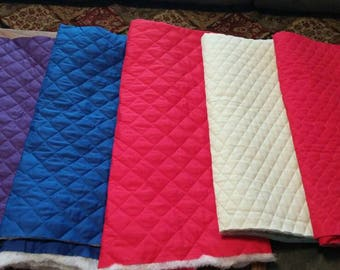Machine Quilted Fabric