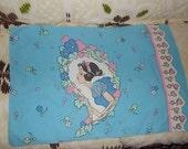 Snow White Seven Dwarfs Twin ,Pillow Case Twin Size, Snow White, Princess Bedding, Disney Bedding,:)s