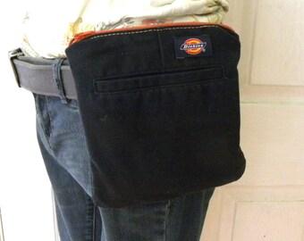 Belt Pocket reclaimed from work pants