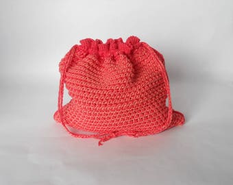 Double-ended crochet hook pattern El Secreto de Palíndromo 2 crochet pattern for project bag