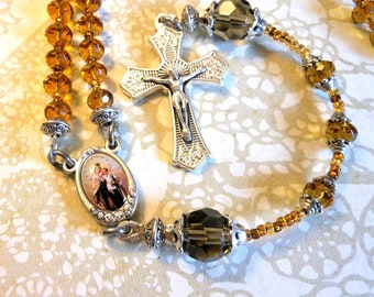 Our Lady of Mt. Carmel Traditional 5 Decade Rosary