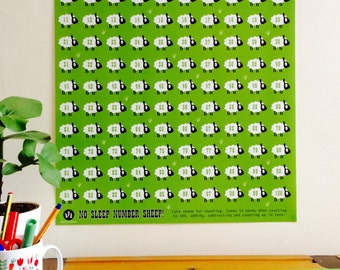 Sheep Nursery Art Etsy