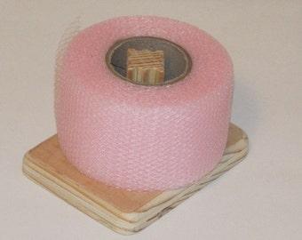 Nylon Net 2 Inch Strips - Rosette Pink Net - 40 Yards Long Scrubbie Supplies