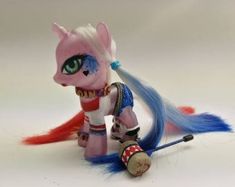 HARLEY QUINN - My Little Pony Custom – Suicide Squad Fanart