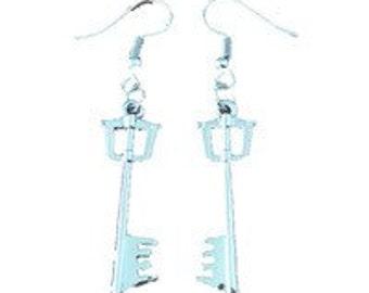 Kingdom Hearts inspired Keyblade earrings