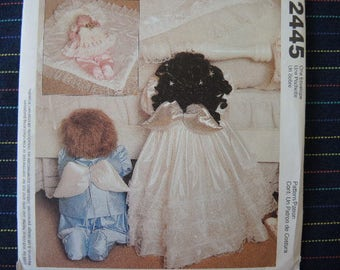 1990s sewing pattern McCalls crafts 2445 UNCUT Little Angels