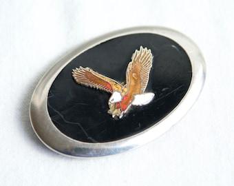 Vintage belt buckle…eagle belt buckle...bald eagle buckle...