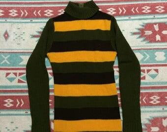 Vintage Finest Quality Knit Wear Turtleneck Sweater
