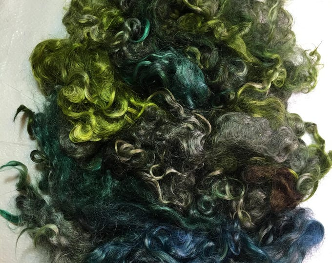 Kettledyed Adult Mohair (yearling grade), 01004