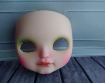 Custom Jecci Five faceplates ONLY doll Blythe sister