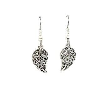 Leaf Earrings - Nature Earrings - Simple Earrings for Her