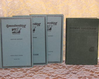 Speedwriting Home Study Course-1954 & 1937