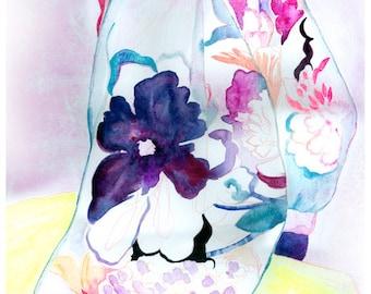 "A5 A4 A3 Art print ""Momo"" (limited edition)"