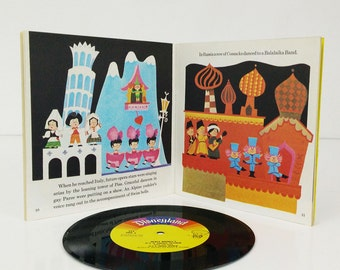 Disney's It's a Small World Book and Record 1978