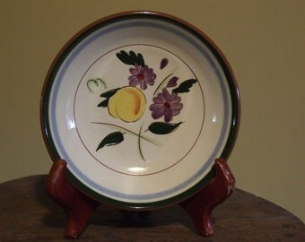 Stangl Pottery Fruit & Flowers Pattern Dessert Fruit Sauce Bowl