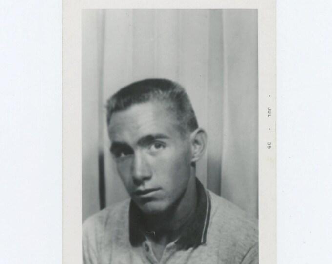 """Vintage Snapshot Photo: """"John Osborne"""" 1959 (611515)"""