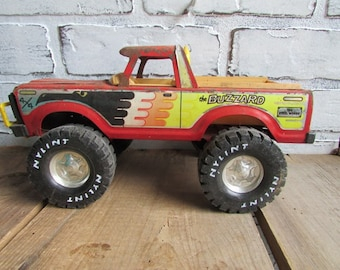Nylint Truck Vintage The Buzzard  Red Pickup Toy Truck