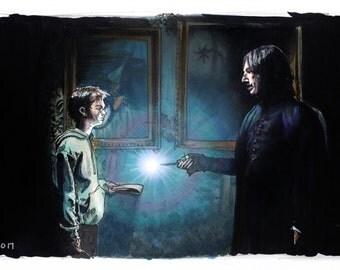 Harry Potter - Mischief Managed Print