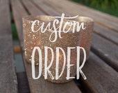 Custom Order for brittbee7