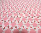 Japanese Fabric YUWA Flower Flower Pink Fat Quarter