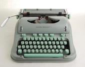 RESERVE: Cursive Typewriter Hermes 3000