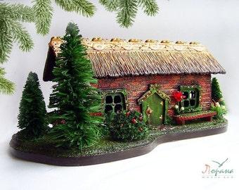 """Box """"House in the village"""". Unique Box"""