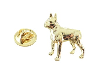 Boston Terrier ~ Lapel Pin/Brooch ~ DG334MP