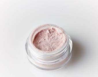 Poetic . Mineral Eye Shadow . Soft Pink . Ballerina. Pastel. Everyday Eye Shadow . Loose Mineral Cosmetics . Naked . Natural Beauty