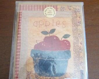 Apples Mini Quilt