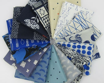 Bluebird Favorites Fat Quarter Bundle - Bluebird collection - 15 Fat Quarters - 3.75 Yards Total