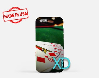 Artistic Card iPhone Case, Poker iPhone Case, Poker iPhone 8 Case, iPhone 6s Case, iPhone 7 Case, Phone Case, iPhone X Case, SE Case