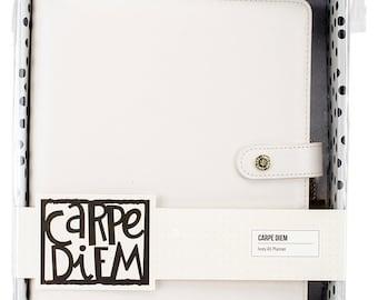 Simple Stories - Carpe Diem - A5 Planner - Ivory