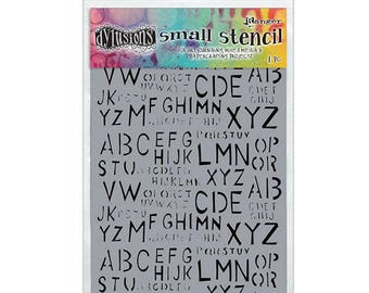 Ranger - Dyan Reaveley - Dylusions - Stencils - Old School Alpha - Small