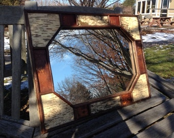 White Birch Mirror (18x24)
