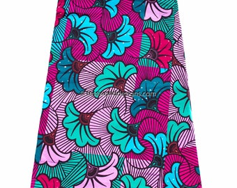 African fabric by the yard/ Ankara Fabric / Ankara print fabric/ African print fabric/ Ankara clothing fabric/ African wax print/  WP1023B