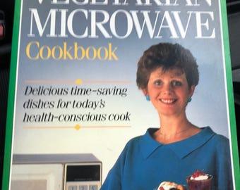 The Vegetarian Microwave Cookbook 1980's
