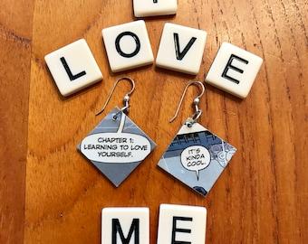 Love Yourself Earrings