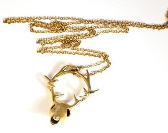 Deer Skull Pendant (JB-P-002)