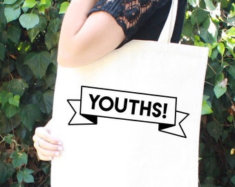 Schmidt Tote Bag - YOUTHS! - New Girl