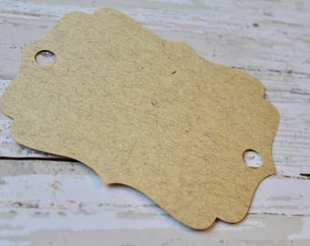 Blank Tags, CHOOSE YOUR COLOR,  Necklace Display, Jewelry Card, Bulk