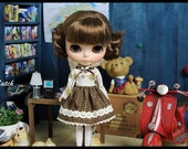 The Brownie dress : It's very cute for your blythe.