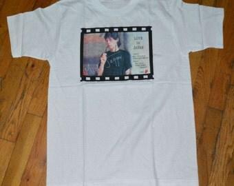1988 MICK JAGGER The Rolling Stones vintage concert tour rare original rock tee t-shirt (M/L) Medium/Large 80s 1980s tshirt Keith Richards