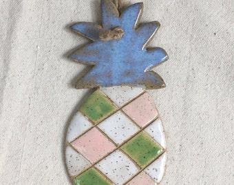 Ceramic Pineapple Ornaments